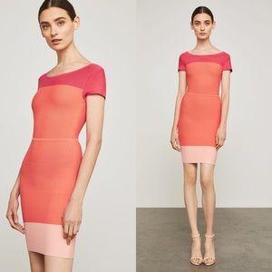 BCBGMAXAZRIA Jacquetta Colorblocked Dress BCBG New